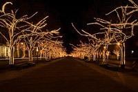 Подключение освещения зданий в Бердске
