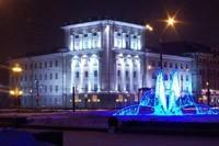 освещение фасадов в Бердске